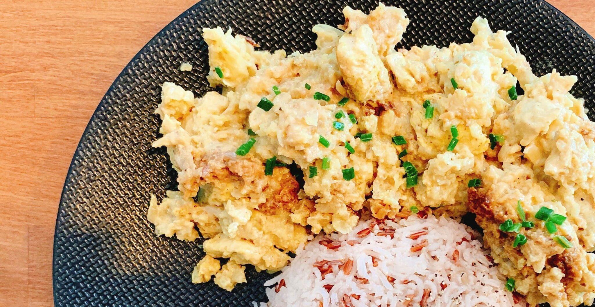 Recette fitness : purée de chou-fleur au curry