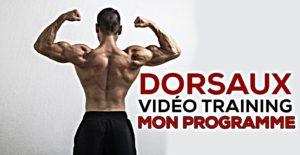 🔒 Programme dos en vidéo, mon training expliqué