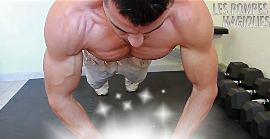 pompe musculation résultat