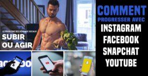 🔒 Comment progresser physiquement avec instagram, facebook et youtube