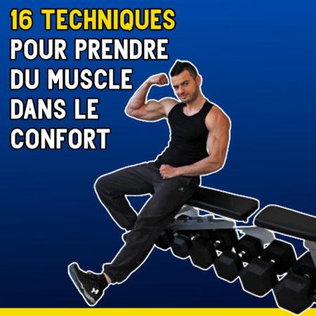 Formation : Augmenter sa prise de muscle par la récupération en 16 étapes