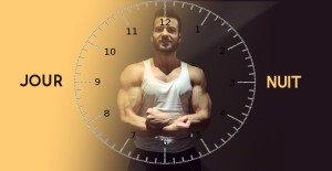 rythme circadiens musculation
