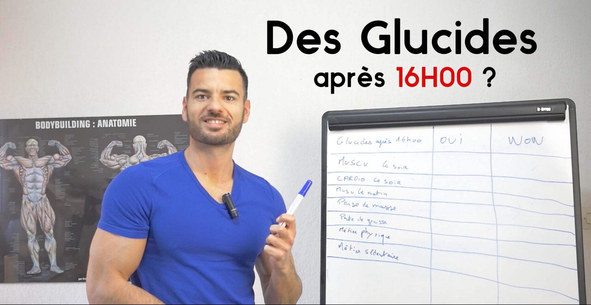 glucide soir musculation
