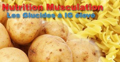 index glycémique musculation