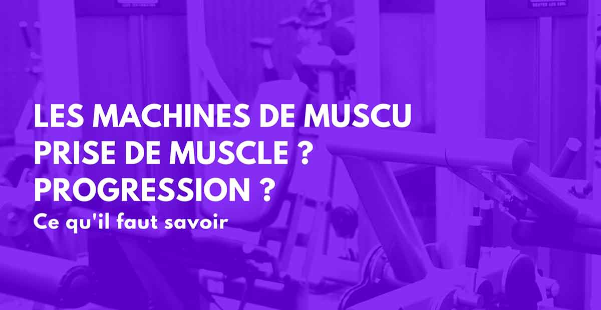 machine musculation