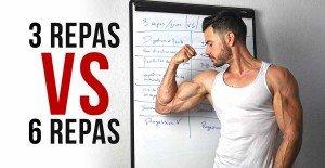 3 ou 6 repas par jour pour prendre du muscle ? Réponse en vidéo !