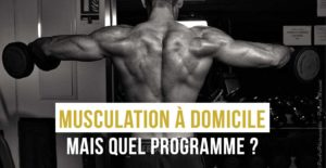 musculation à domicle