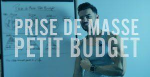 Prise de masse : exemple de menu spécial petit budget