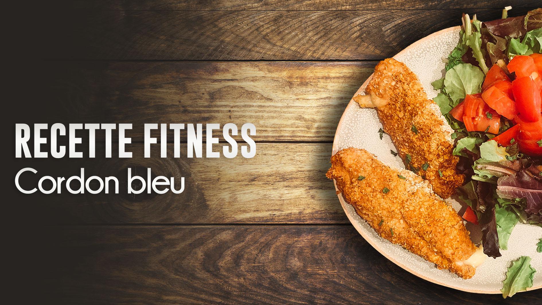 recette cordon bleu fitness