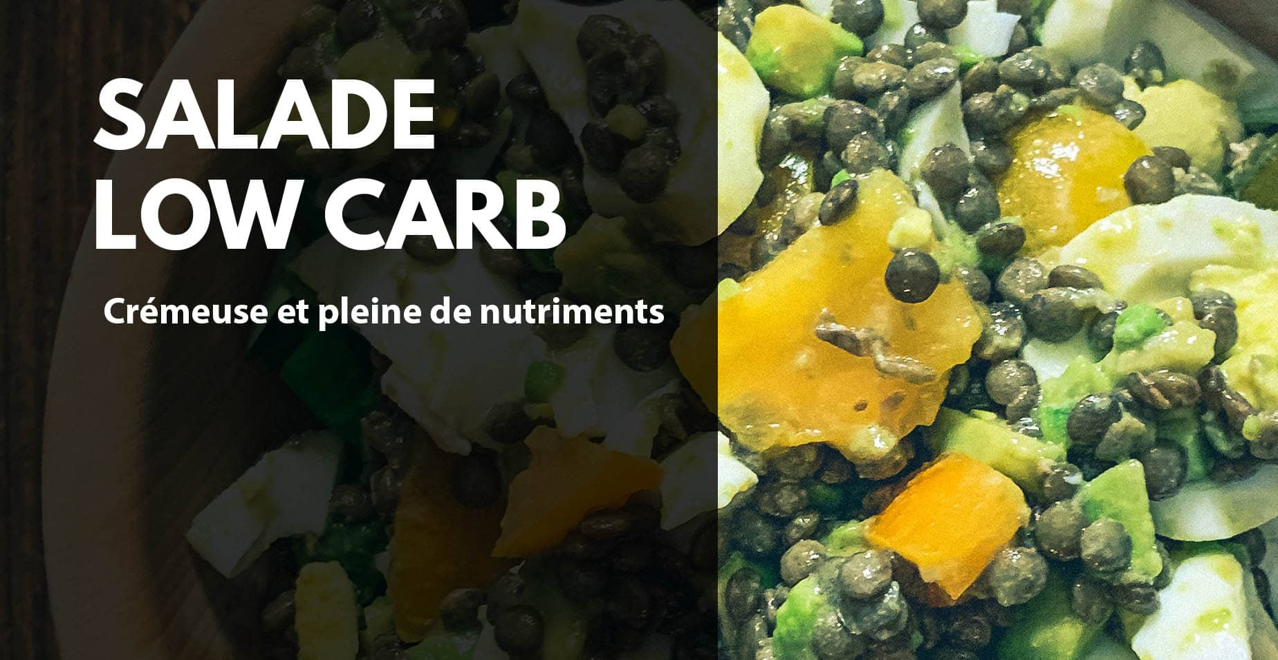 Salade fitness low carb