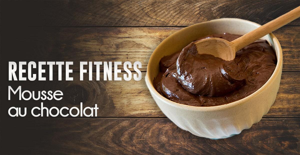 recette fitness mousse au chocolat