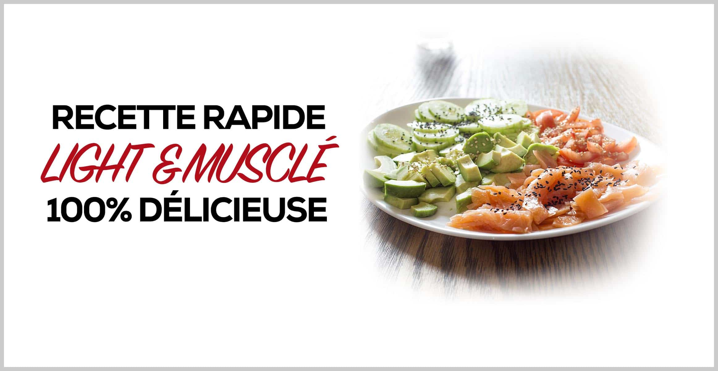 recette fitness rapide