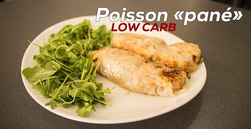 recette low carb de poisson pan sans gluten fitnessmith. Black Bedroom Furniture Sets. Home Design Ideas