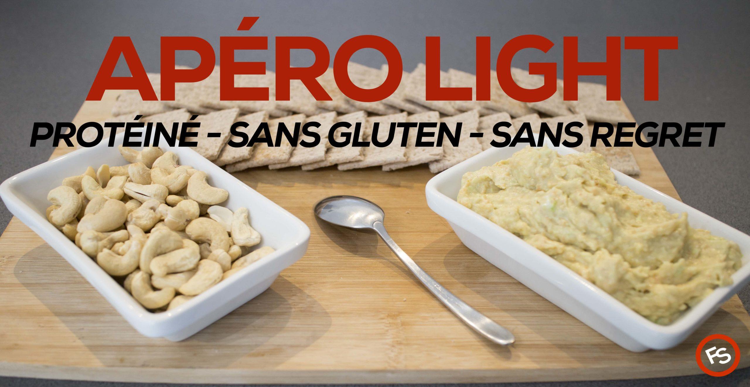 Recette facile – idée apéritif light – sans gluten