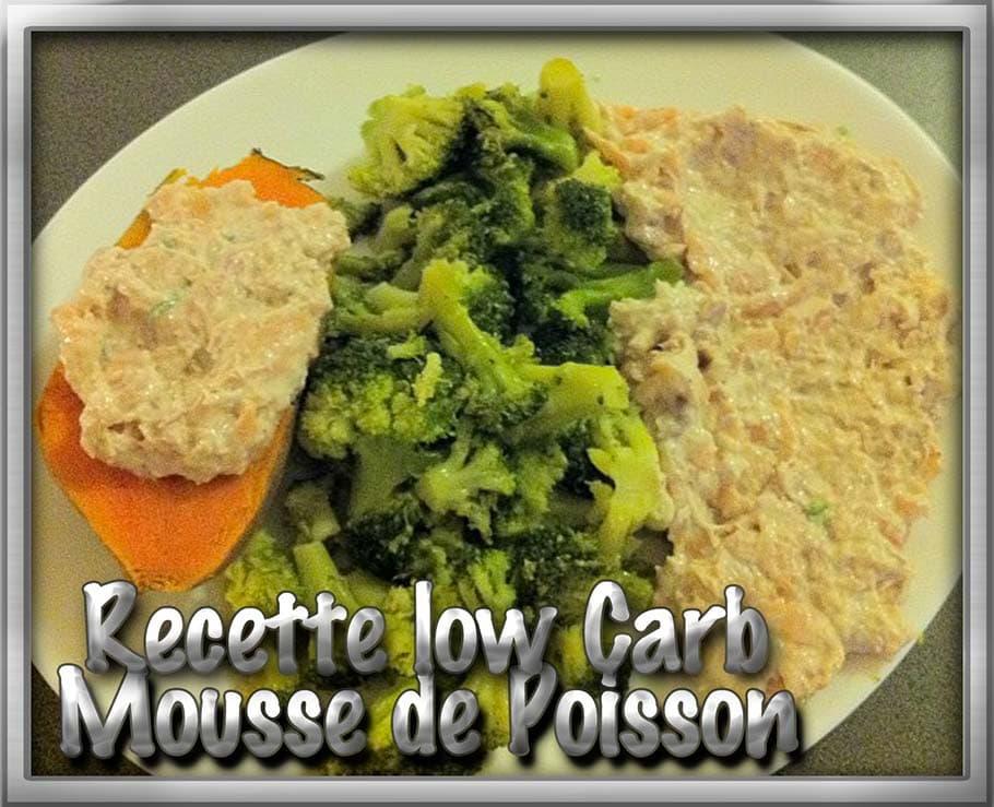 recette mousse thon lowcarb