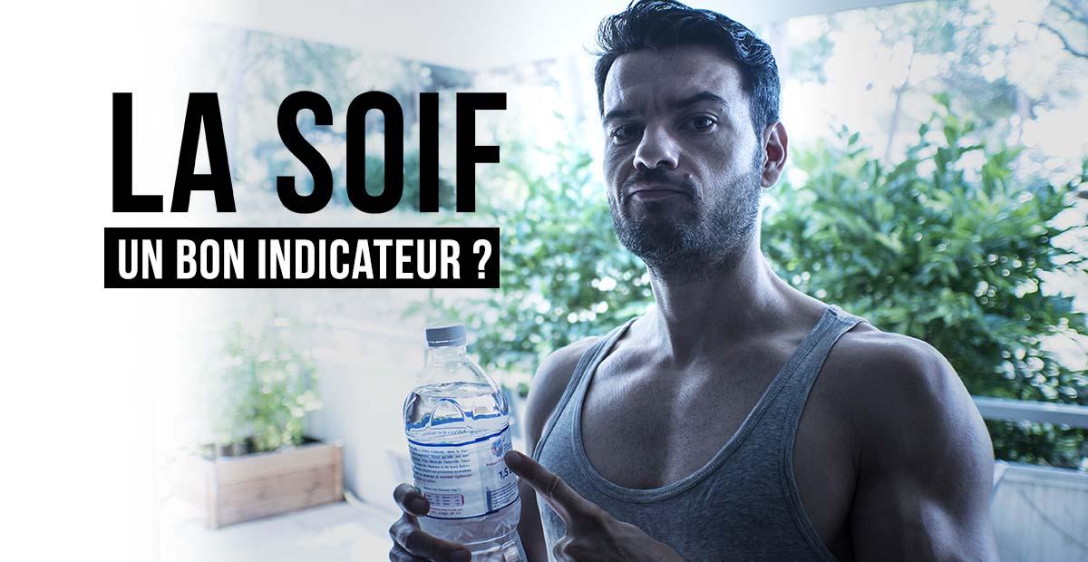 L'eau, pourquoi la soif n'est pas un bon indicateur en musculation