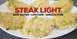 Sans gluten – recette steak light