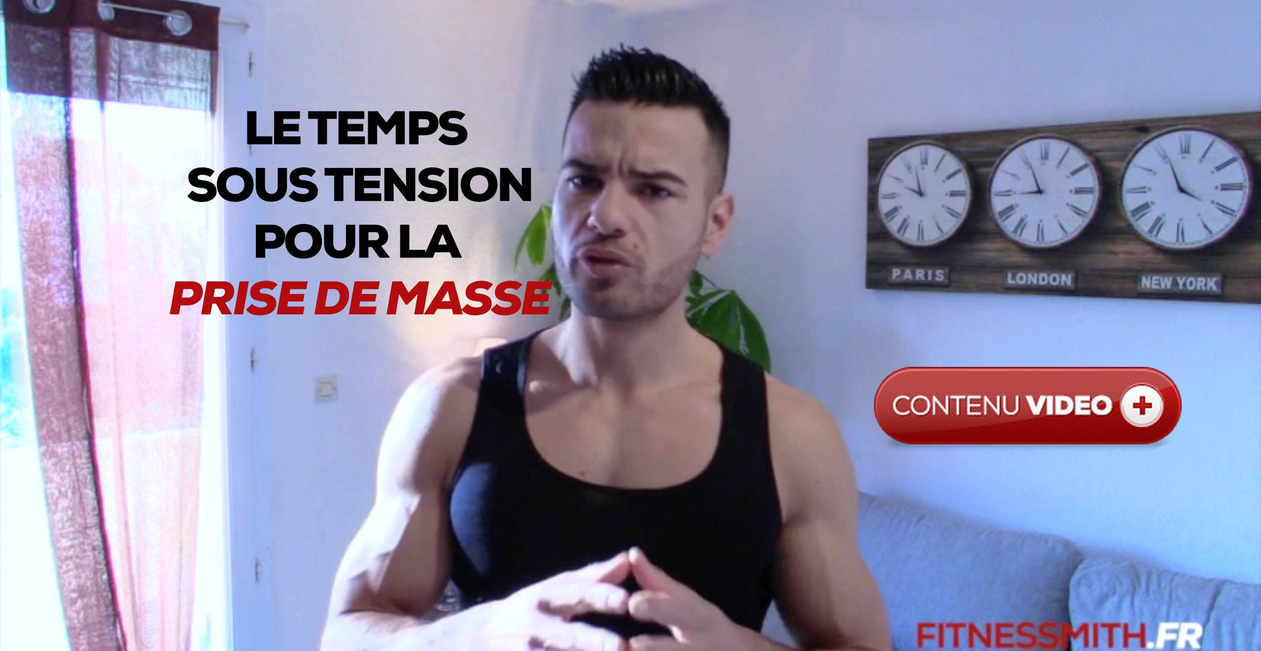 prise de muscle temps sous tension